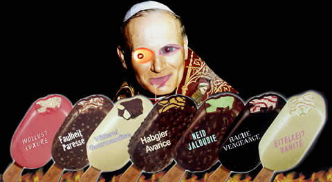 pope deadly sins