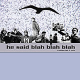 he said blah blah blah cover art