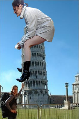 that tourist girl