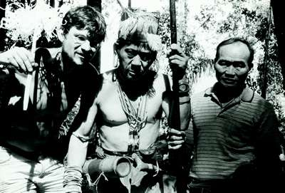 bruno with penan people