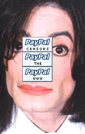 paypal censors the www