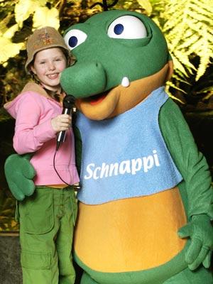 schnappi with joy